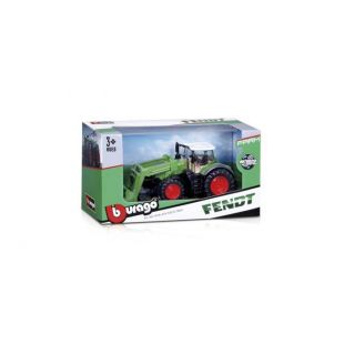 Bburago 10cm Fend Farm Tractor With Front Loader