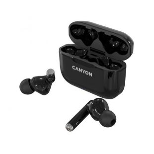 Canyon True wireless stereo headset TWS-3 Black - CNE-CBTHS3B