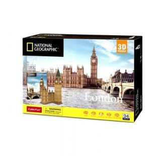 Cubic Fun 3D National Geographic Big Ben DS0992h