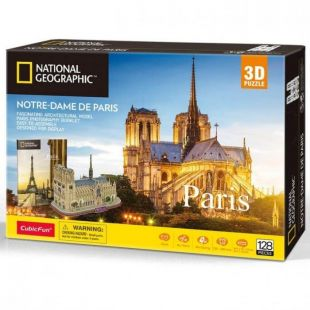 Cubic Fun 3D National Geographic Παναγία Των Παρισίων DS0986h
