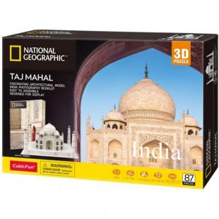 Cubic Fun 3D Puzzle National Geographic Taj Mahal DS0981h