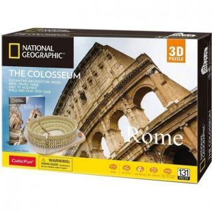 Cubic Fun 3D Puzzle National Geographic The Colosseum DS0976h