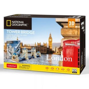 Cubic Fun 3D Puzzle National Geographic Tower Bridge DS0978h