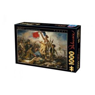 D-Toys Puzzle Eugene Delacroix Liberty Leading The People 1000 τεμ.