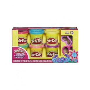 Hasbro Play-Doh Sparkle Compound Collection Πλαστοζυμαράκι Λαμπιρίζον