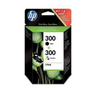 Hp Μελάνι Combo Pack No 300 Black/Color