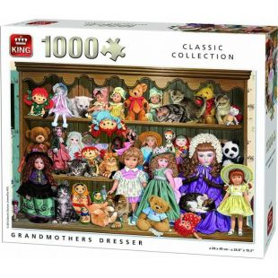 King Puzzle Grandmother Dresser 1000 τεμ.