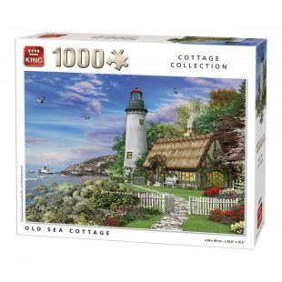 King Puzzle Old Sea Cottage 1000 τεμ.