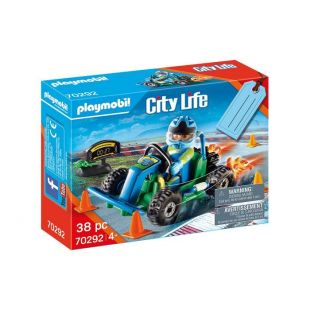 Playmobil 70292 Gift Set Οδηγός Με Go-Kart