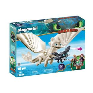 Playmobil 70038 Η Λευκή Οργή Κι Ένας Δρακούλης Με Τα Παιδιά