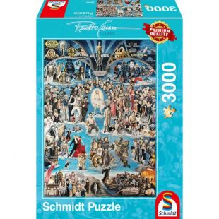 Schmidt Puzzle Hollywood XXL 3000 τεμ