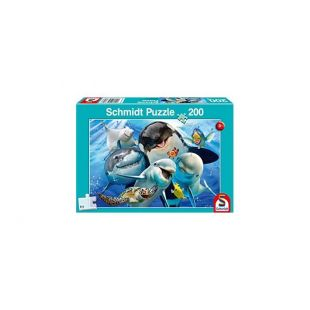 Schmidt Puzzle Underwater Friends 200τμχ